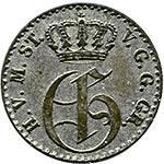 1/48 Taler Mecklenburg-Strelitz Großherzog Georg
