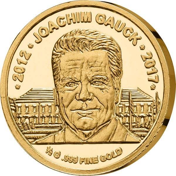 1.000 Francs Guinea Abschied von Joachim Gauck 2017