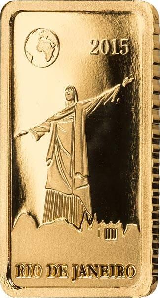 10 Dollars Salomonen Rio de Janeiro Christusstatue 2015