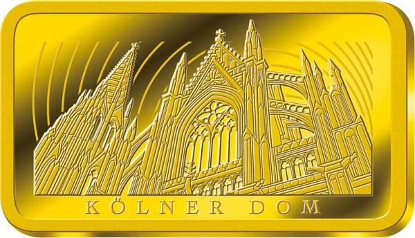 Goldbarren Kölner Dom