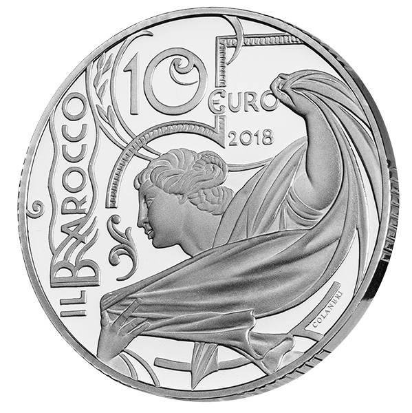 10 Euro Italien Barock 2018
