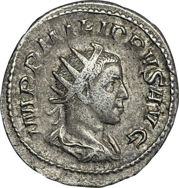Antoninian Philippus I. Arabs 244-249