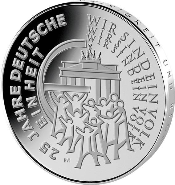 25 Euro BRD 25 Jahre Deutsche Einheit 2015