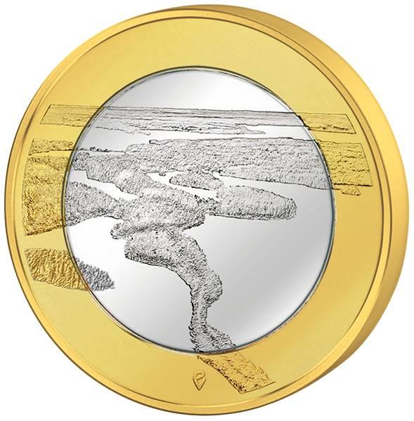 5 Euro Finnland Punkaharju Rücken 2018