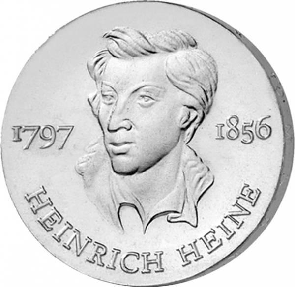 10 Mark DDR Heinrich Heine 1972