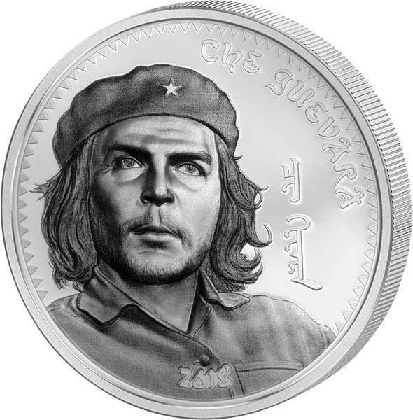1.000 Togrog Silber Mongolei Che Guevara 2018