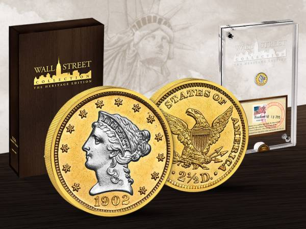 Wall Street Investment Heritage Edition Liberty Head 2015 ss-vz