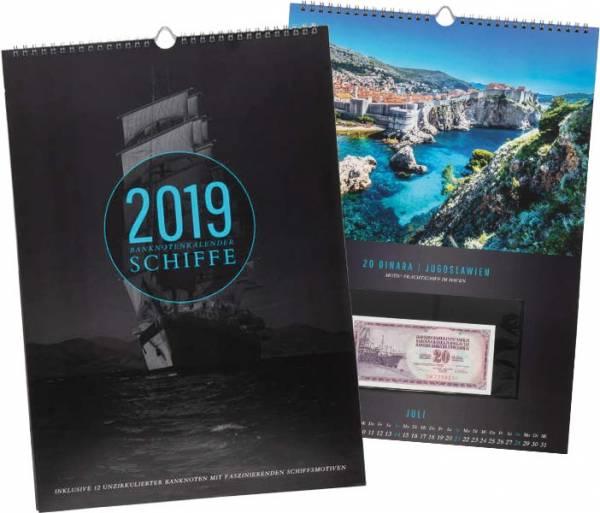 Banknoten-Kalender 2019