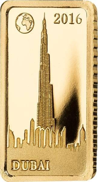 10 Dollars Salomonen Dubai Burj Khalifa 2016
