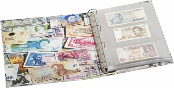 Banknoten-Album ohne Hülle 245x300 mm