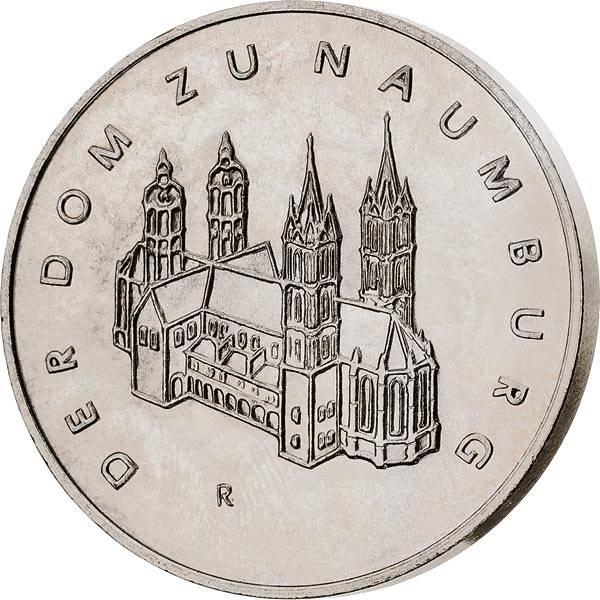 DDR Gedenkprägung Dom zu Naumburg