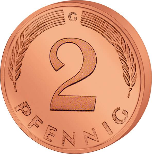 2 Pfennig1996