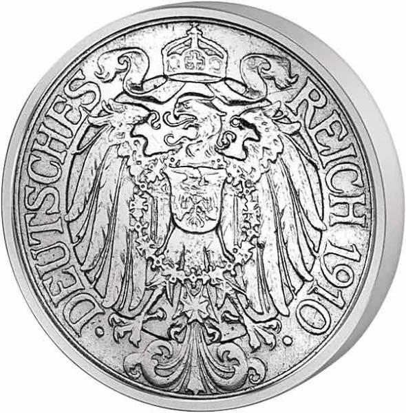 25 Pfennig Deutsches Kaiserreich Ähren 1909-1912 Sehr schön