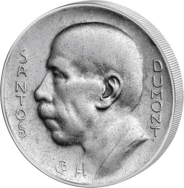 5000 Réis Brasilien Albero Santos Dumont 1936-1938