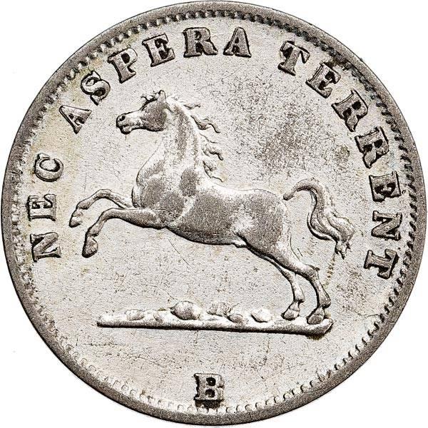 1/24 Taler Hannover König Georg V. 1854-1856
