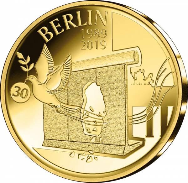 12,5 Euro Belgien 30 Jahre Fall der Berliner Mauer 2019