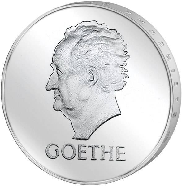 3 Mark Weimarer Republik 100. Todestag Goethes 1932 Vorzüglich