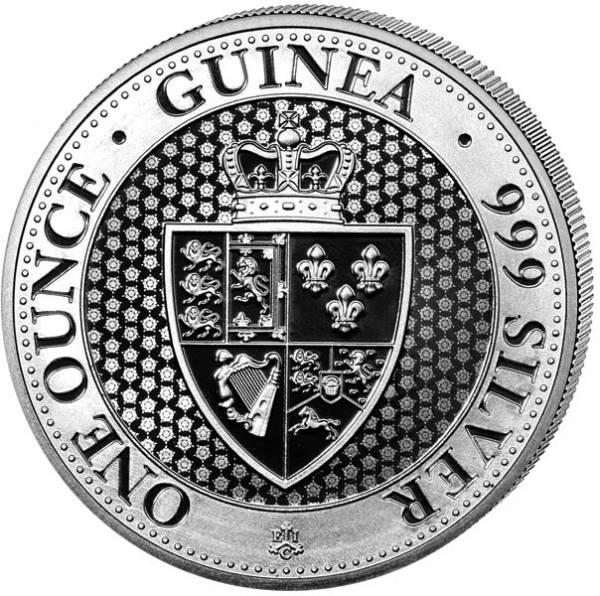 1 Unze St. Helena Spade Guinea 2019