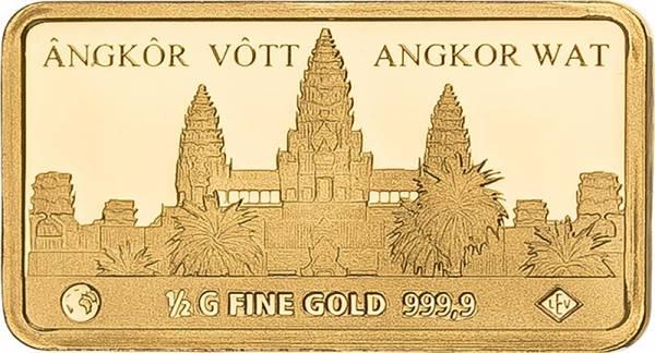 Gedenkprägung Angkor Wat