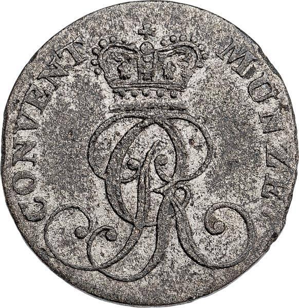 4 Pfennig Hannover König Georg III. 1816-1817