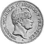 Taler Ausbeutetaler Friedrich Wilhelm IV. 1841 Sehr schön