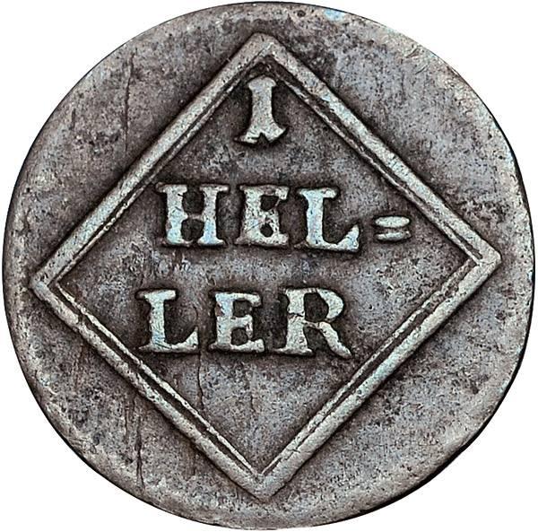 1 Heller Bayern Kurfürst Karl Theodor