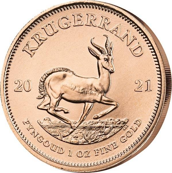 1 Unze Gold Südafrika Krügerrand 2021