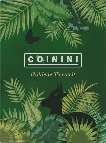 Sammelalbum für Coinini Goldene Tierwelt