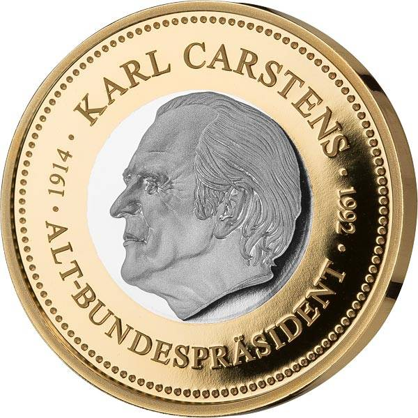 Gedenkprägung Karl Carstens