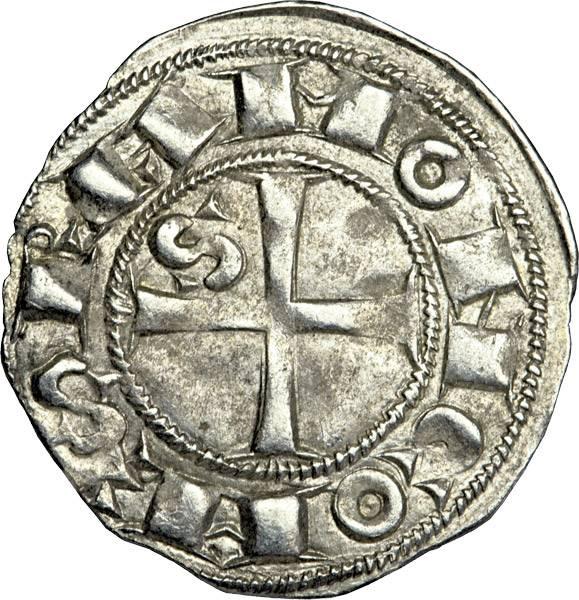 Denier Toulouse Herzog Wilhelm (Guillaume) IX. von Aquitanien 1119-1123