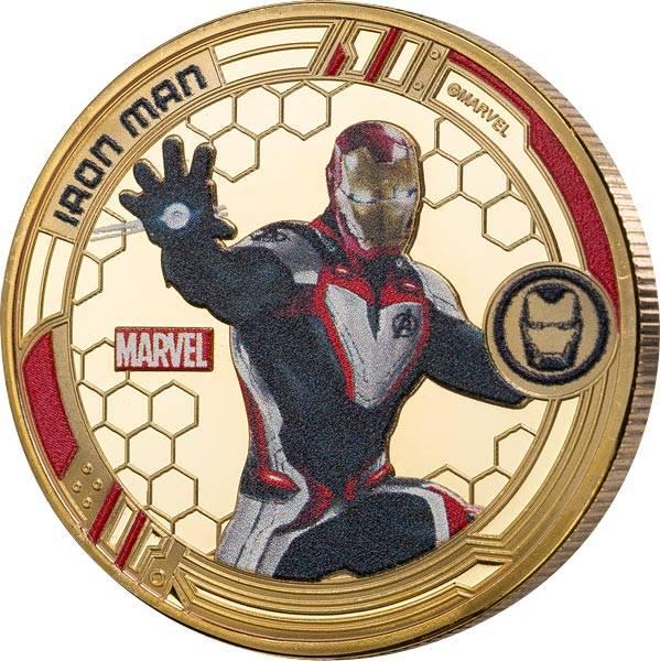 Gedenkprägung Iron Man