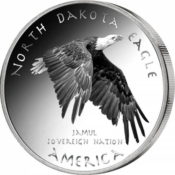 1 Dollar USA Native State Dollar Chippewa Adler North Dakota 2020