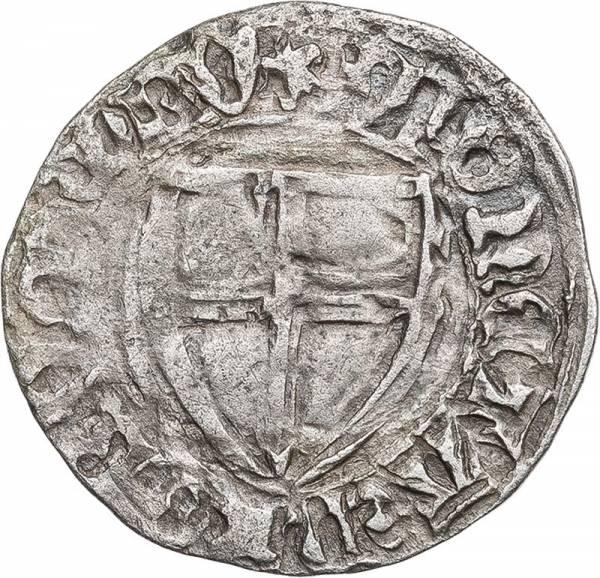 Schilling Deutscher Orden Michael Küchmeister von Sternberg 1414-1422