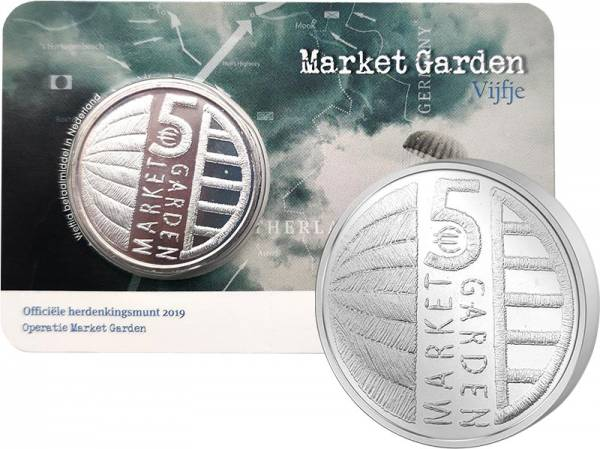 5 Euro Niederlande 75 Jahre Market Garden 2019