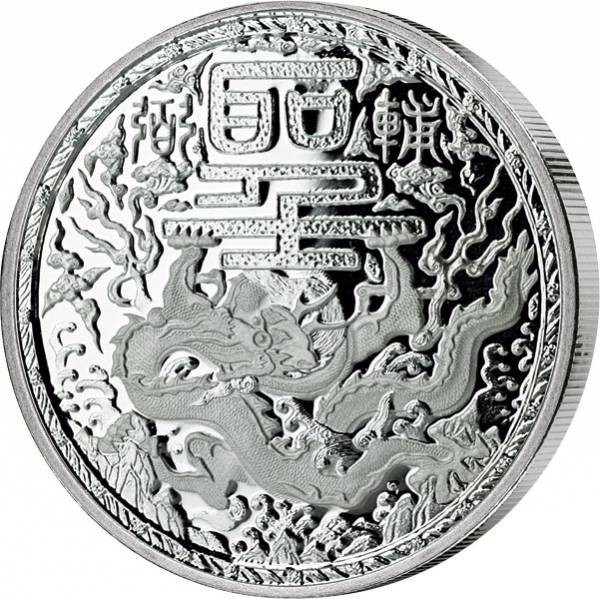 1 Unze Silber Kamerun Imperial Dragon 2018