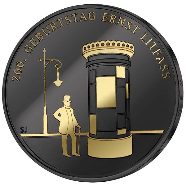 20 Euro BRD Ernst Litfaß Golden Enigma 2016