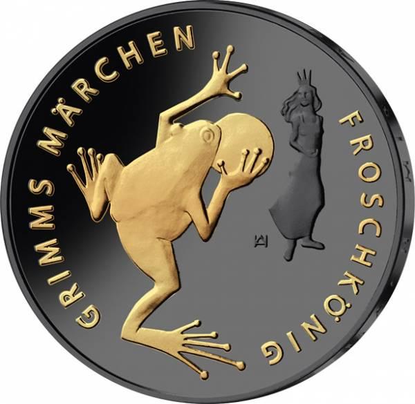 20 Euro BRD Froschkönig 2018 Golden Enigma Edition