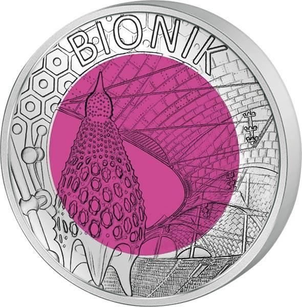 25 Euro Österreich Bionik 2012