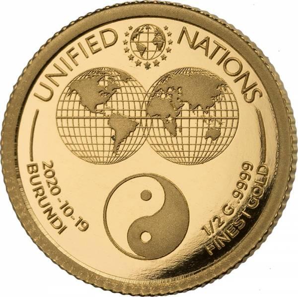 50 Francs Burundi Yin & Yang 2020