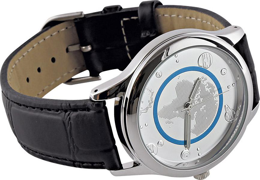 Armbanduhr Blauer Planet Erde Sammeln Seltenes Weltmünzen