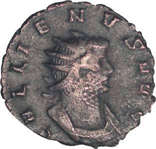 Antoninian Kaiser Gallienus 253-268 n.Chr. Sehr schön