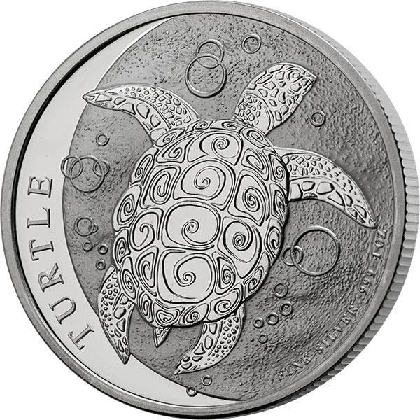 1 Unze Silber Niue Meeresschildkröte 2021