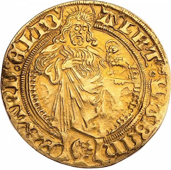 Goldgulden Brandenburg-Franken Markfrag Albrecht Achilles 1470-1486