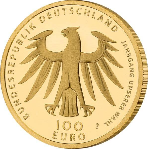 100 Euro BRD Goldausgaben unserer Wahl