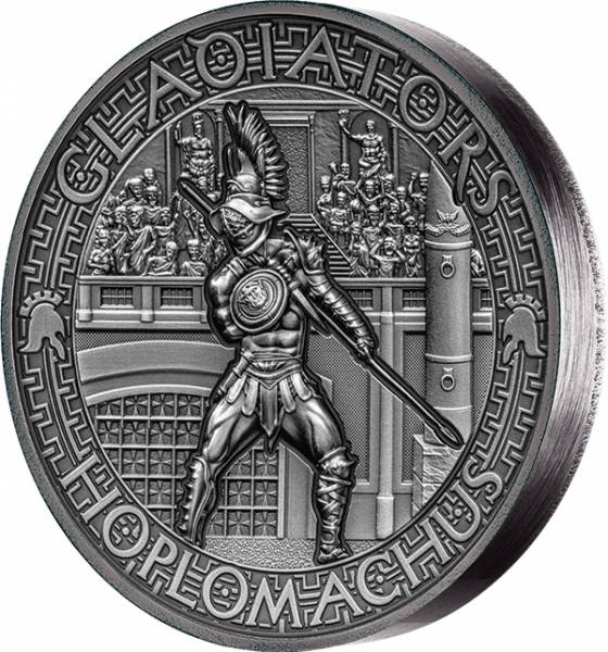 5 Dollars Salomonen Gladiatoren Hoplomachus 2017