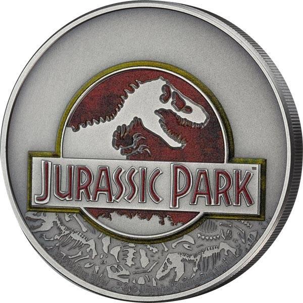 2 Dollars Niue 25 Jahre Jurassic Park 2018