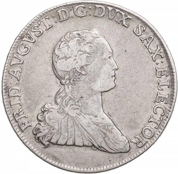2/3 Taler Sachsen Kurfürst Freidrich August III. 1765-1768