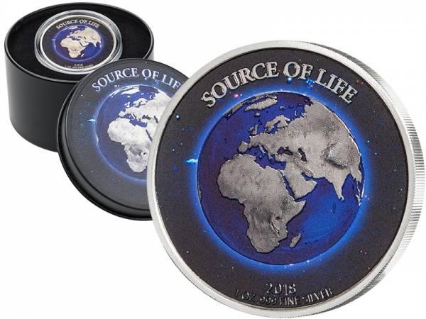 1.000 Francs Benin Quelle des Lebens Erde 2018