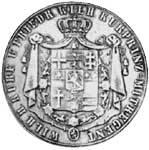 Taler Doppeltaler Wilhelm II. und Friedrich Wilhelm 1847  ss-vz