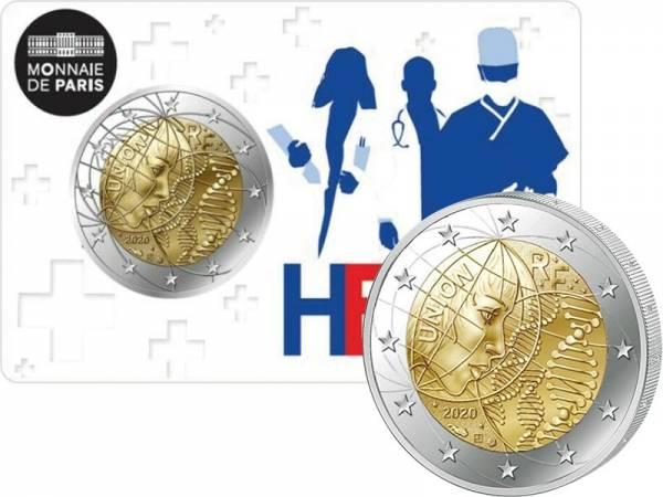 2 Euro Frankreich Medizinische Forschung - Heros 2020